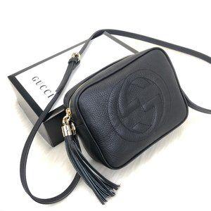 %100 leather Gucci Soho Disco Bag